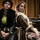Alia Shawkat and Eiza González in Love Spreads (2021)