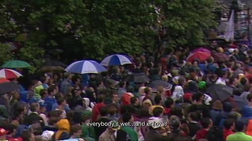 Umbrellas Down Princess Diana