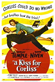 David Niven and Shirley Temple in A Kiss for Corliss (1949)