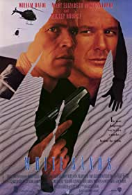 Willem Dafoe and Mickey Rourke in White Sands (1992)
