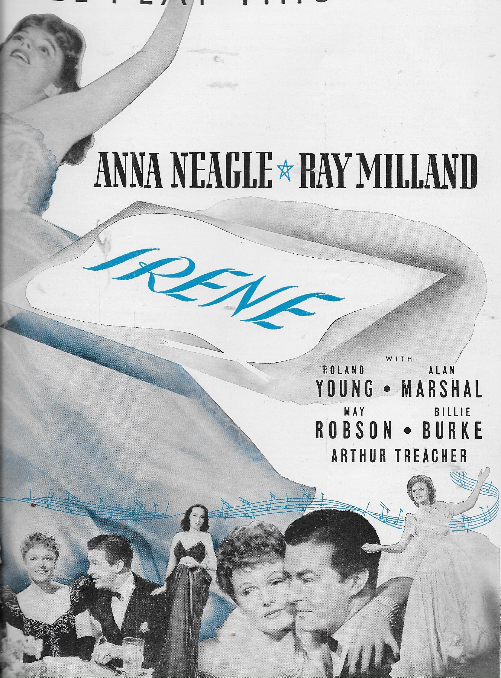 Billie Burke, Ray Milland, Doris Nolan, Alan Marshal, and Anna Neagle in Irene (1940)