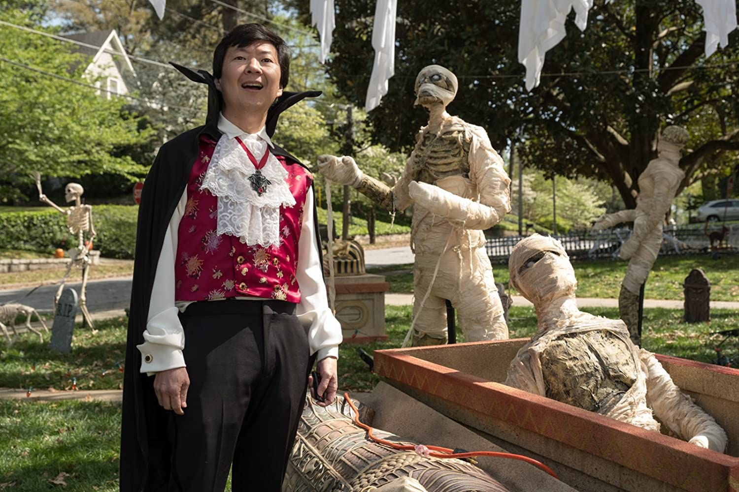 Ken Jeong in Goosebumps 2: Haunted Halloween (2018)