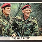 Roger Moore and Richard Harris in The Wild Geese (1978)