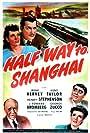 J. Edward Bromberg, Irene Hervey, Henry Stephenson, and Kent Taylor in Halfway to Shanghai (1942)