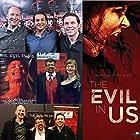 Michael Gyori, David Aboussafy, Jason William Lee, and Melanie Joy Adams in The Evil in Us (2016)
