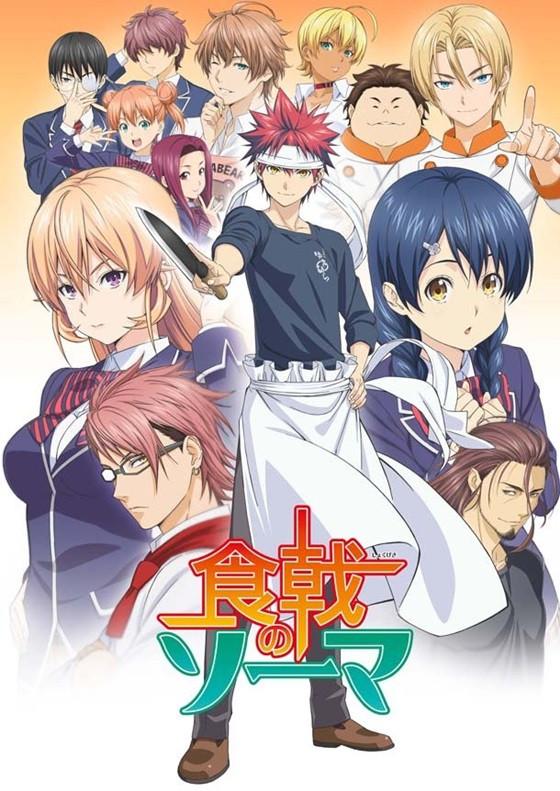 food wars shokugeki no soma tv series 2015 imdb