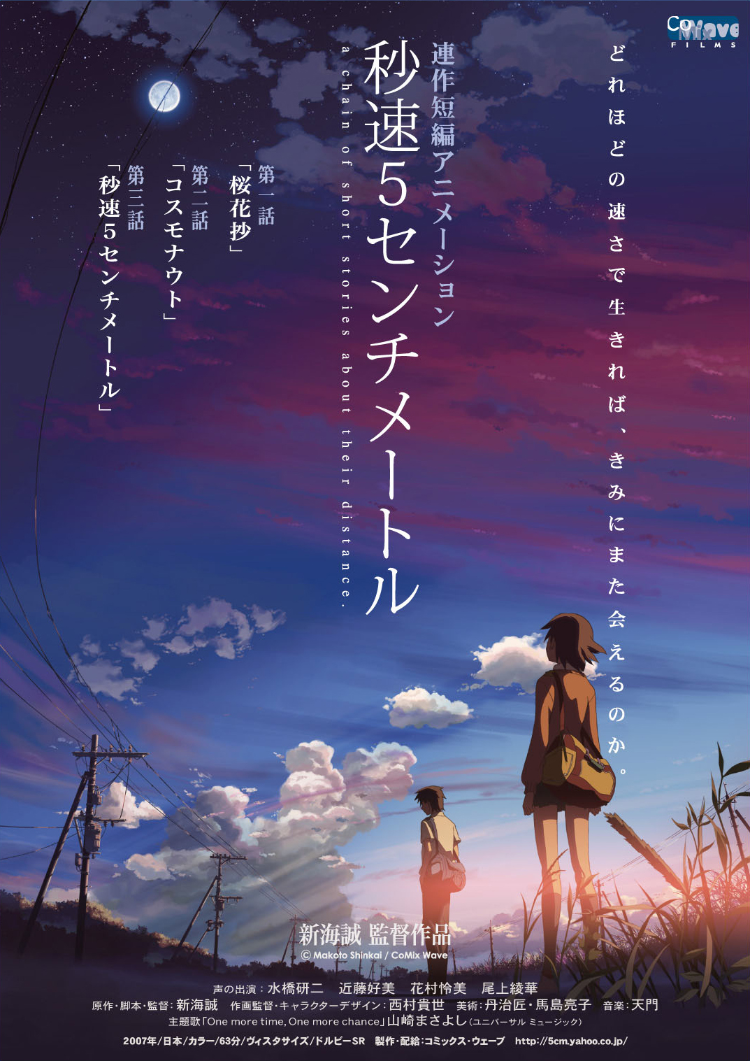 5 centimeters per second 2007 imdb