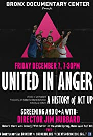 United in Anger: A History of ACT UP Poster