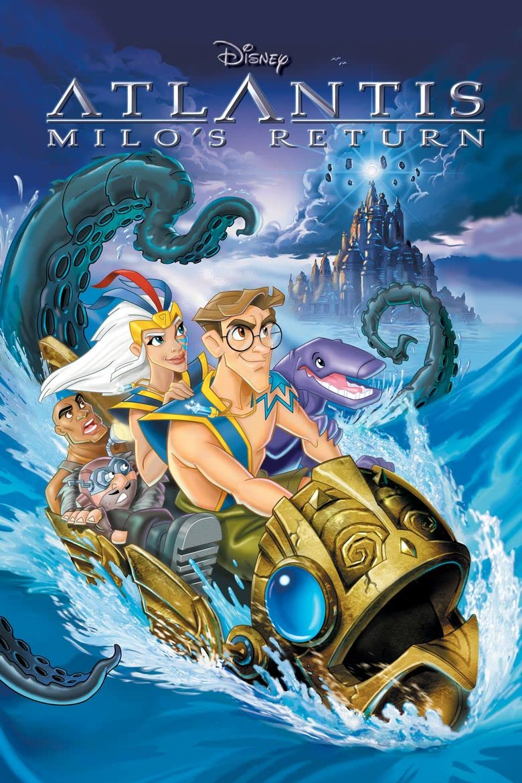 Atlantis: Milo's Return (2003) Hindi Dubbed