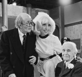 Harold Bennett, Vivienne Johnson, and Kenneth Waller in Are You Being Served? (1972)