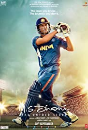 M.S. Dhoni: The Untold Story Poster