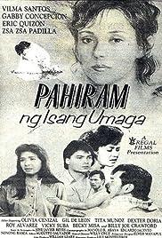 Pahiram ng isang umaga Poster