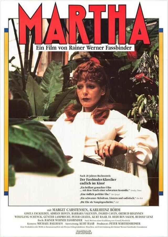 Margit Carstensen in Martha (1974)