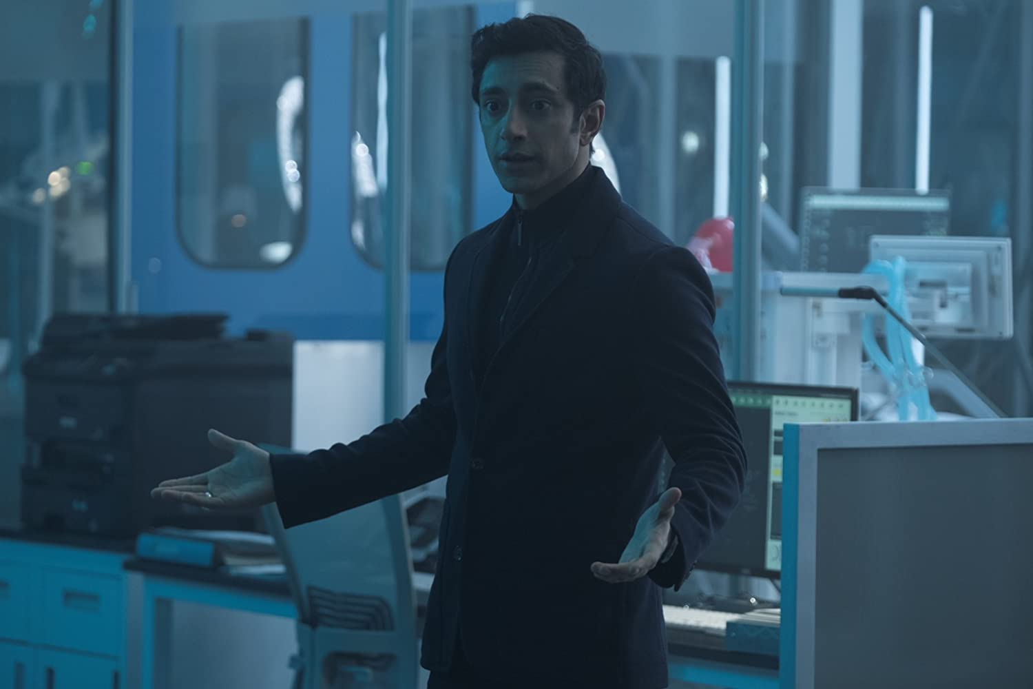 Riz Ahmed in Venom (2018)