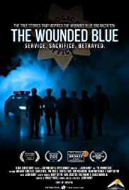 The Wounded Blue Poster