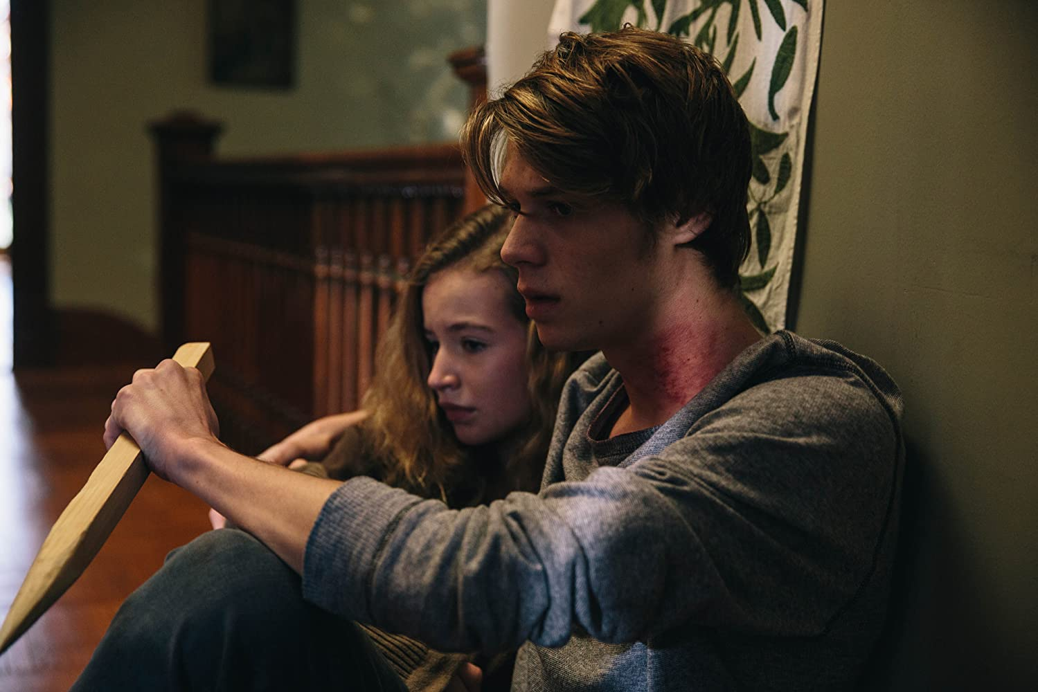 Colin Ford and Eloise Lushina in Family Blood (2018)