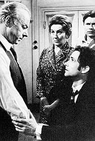 Heinz Rühmann, Christoph Bantzer, and Käthe Gold in Der Tod des Handlungsreisenden (1968)