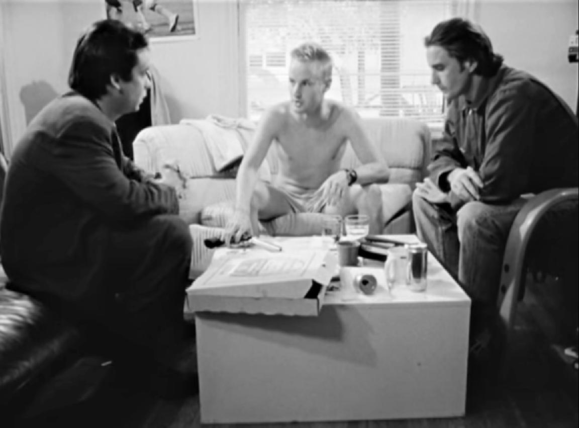 Luke Wilson, Owen Wilson, and Robert Musgrave in Bottle Rocket (1993)