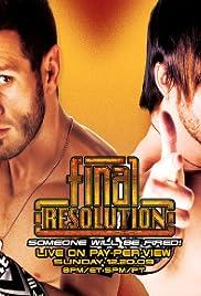 Final Resolution Poster