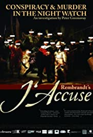 Rembrandt's J'Accuse Poster