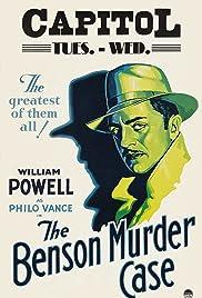 The Benson Murder Case(1930) Poster - Movie Forum, Cast, Reviews