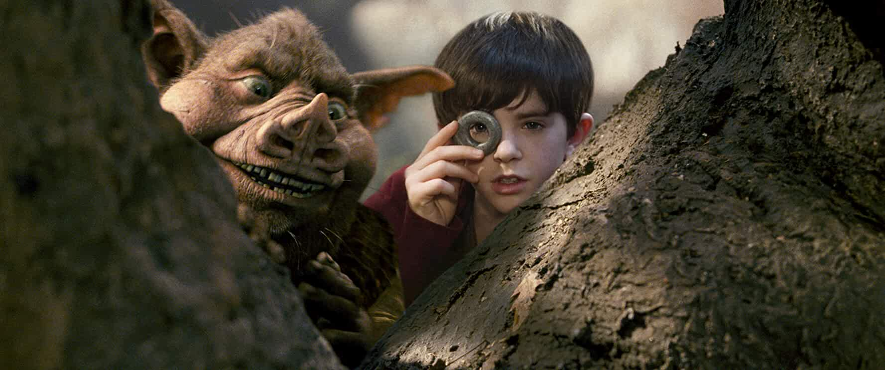 Freddie Highmore in The Spiderwick Chronicles (2008)