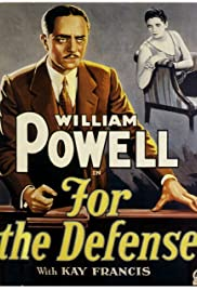 For the Defense(1930) Poster - Movie Forum, Cast, Reviews