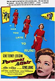 Personal Affair (1954) Poster - Movie Forum, Cast, Reviews