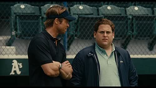 Oakland A's general manager Billy Beane (Brad Pitt) works to put together a baseball club on a budget by employing computer-generated analysis to draft his players.