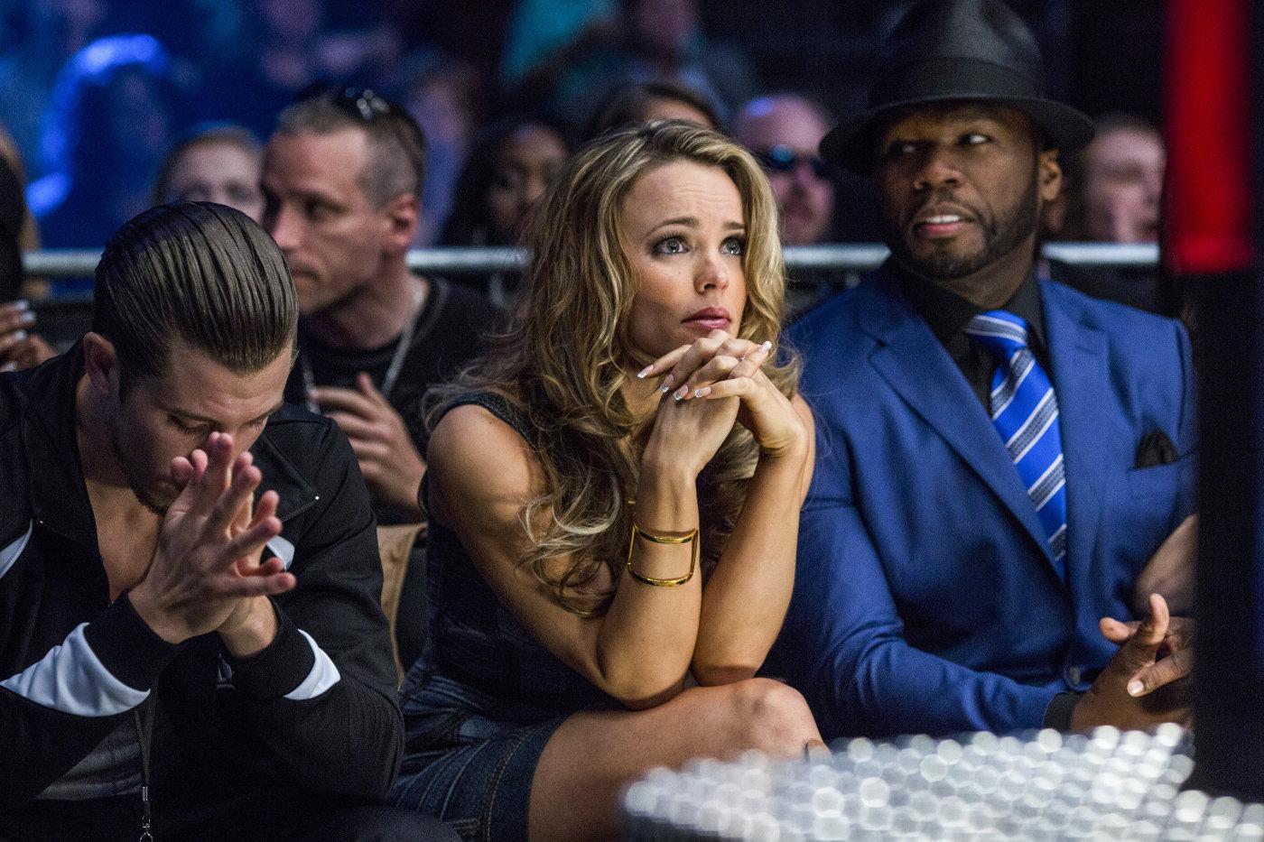 Southpaw's Beau Knapp, Rachel McAdams and 50 Cent's Stills (2015)