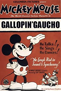 Movie posters The Gallopin' Gaucho USA [720x1280]