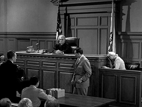 Raymond Burr Sydney Smith and William Talman in Perry Mason 1957