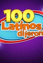 100 Latinos Dijeron Poster