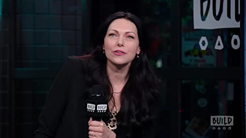 """BUILD: Laura Prepon Directed """"Orange Is The New Black"""" While Being Tied Up"""