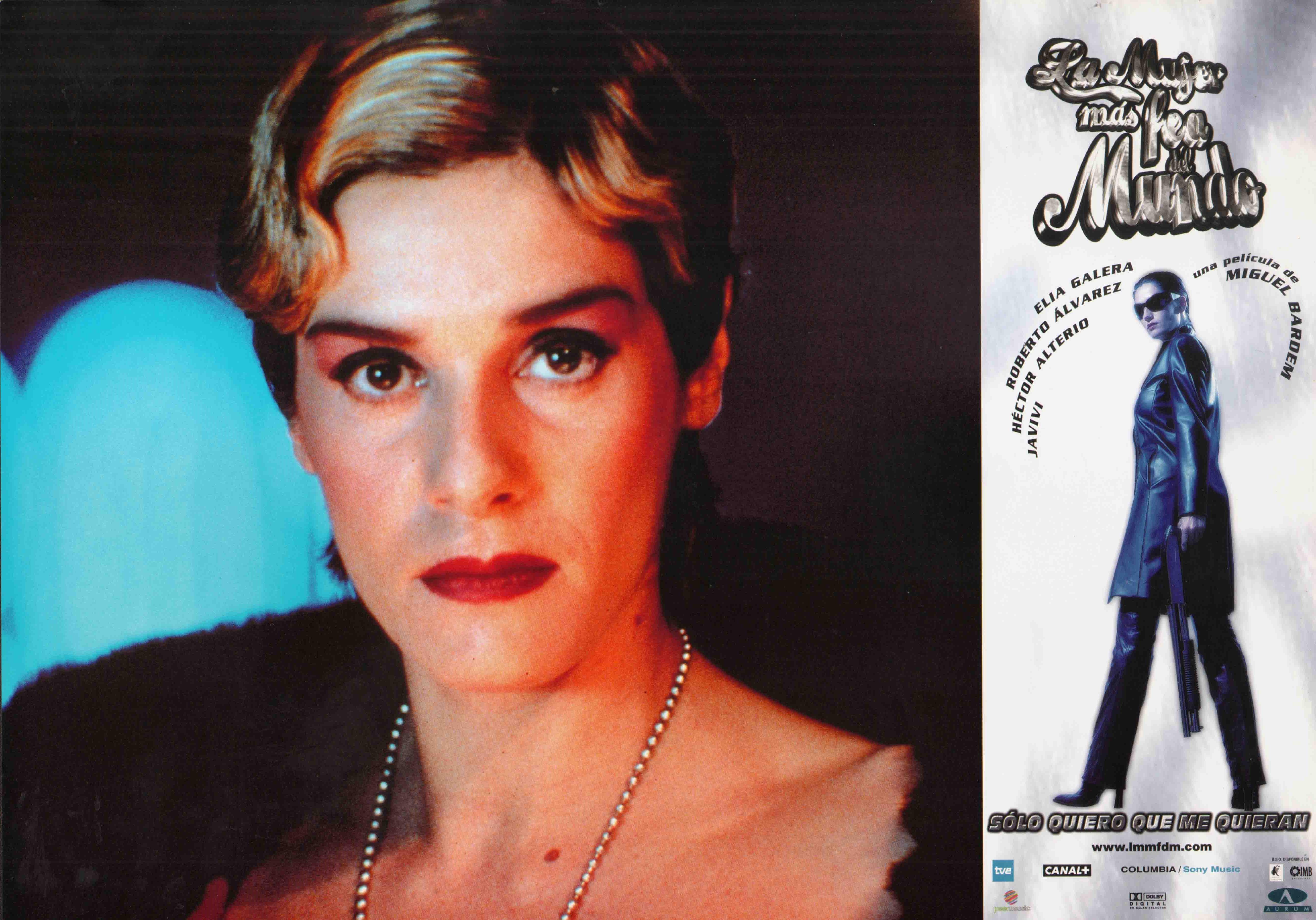 Anabel Alonso and Elia Galera in La mujer más fea del mundo (1999)