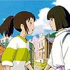 Rumi Hiiragi and Miyu Irino in Sen to Chihiro no kamikakushi (2001)
