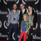 """Lucas Royalty attends the opening night of the LA Shorts Fest where his film """"A Purgatory Story """" is an official selection"""