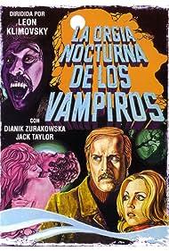 León Klimovsky, Jack Taylor, and Dyanik Zurakowska in La orgía nocturna de los vampiros (1973)