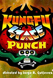 Kung Fu Space Punch Poster
