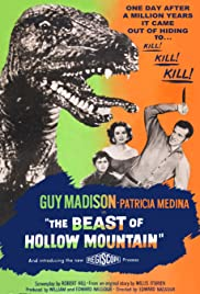 The Beast of Hollow Mountain (1956) Poster - Movie Forum, Cast, Reviews