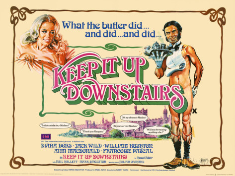 Image result for keep it up downstairs