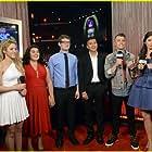 Madeline Whitby with Morgan Tompkins, Shakira at The 2014 Radio Disney Music Awards
