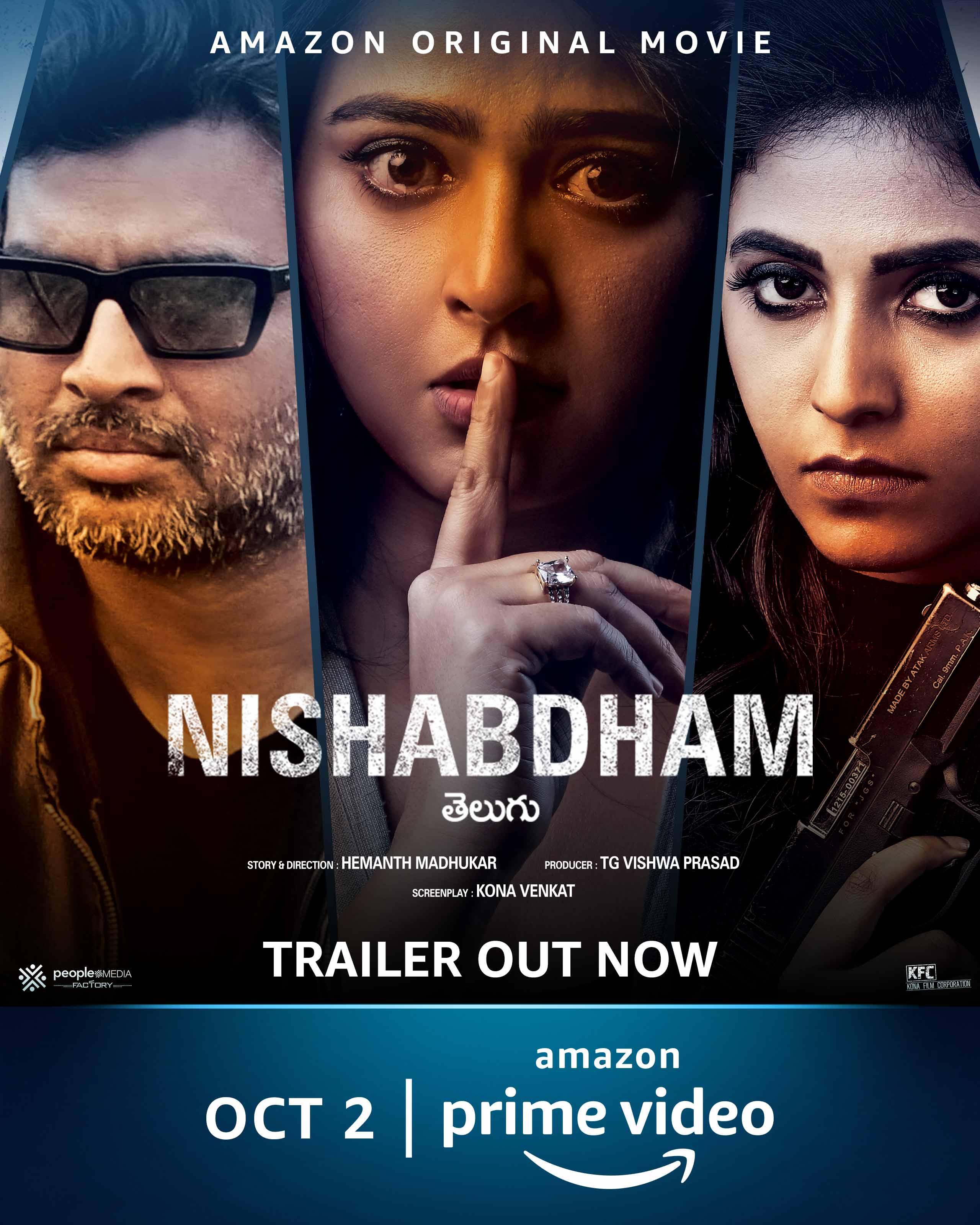 NISHABDHAM (2020) (Telugu+Tamil) x264 Movie 720p HDRip 1.3GB Download