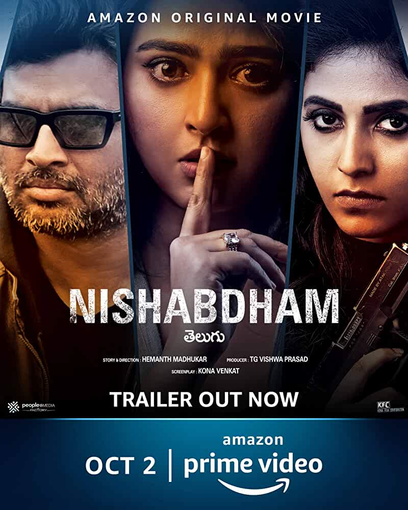 Nishabdham 2020 Telugu 720p HDRip With Bangla Subtitle