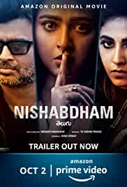 Nishabdham (2020) HDRip telugu Full Movie Watch Online Free MovieRulz