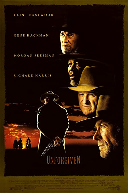 [R] Unforgiven (1992) English Blu-Ray - 480P | 720P - x264 - 450MB | 950MB - Download & Watch Online With Subtitle Movie Poster - mlsbd
