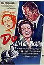 Du bist die Richtige (1955) Poster