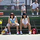 Emma Stone and Natalie Morales in Battle of the Sexes (2017)