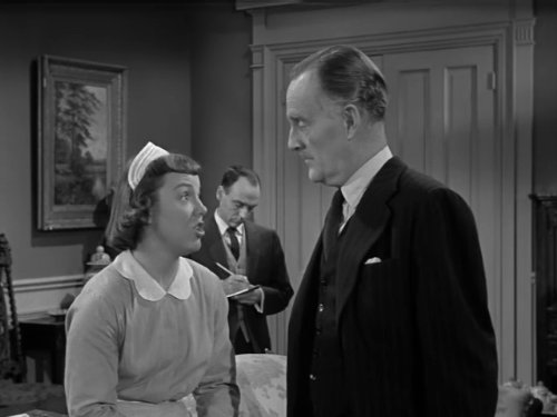 John Williams and Patricia Hitchcock in Alfred Hitchcock Presents (1955)