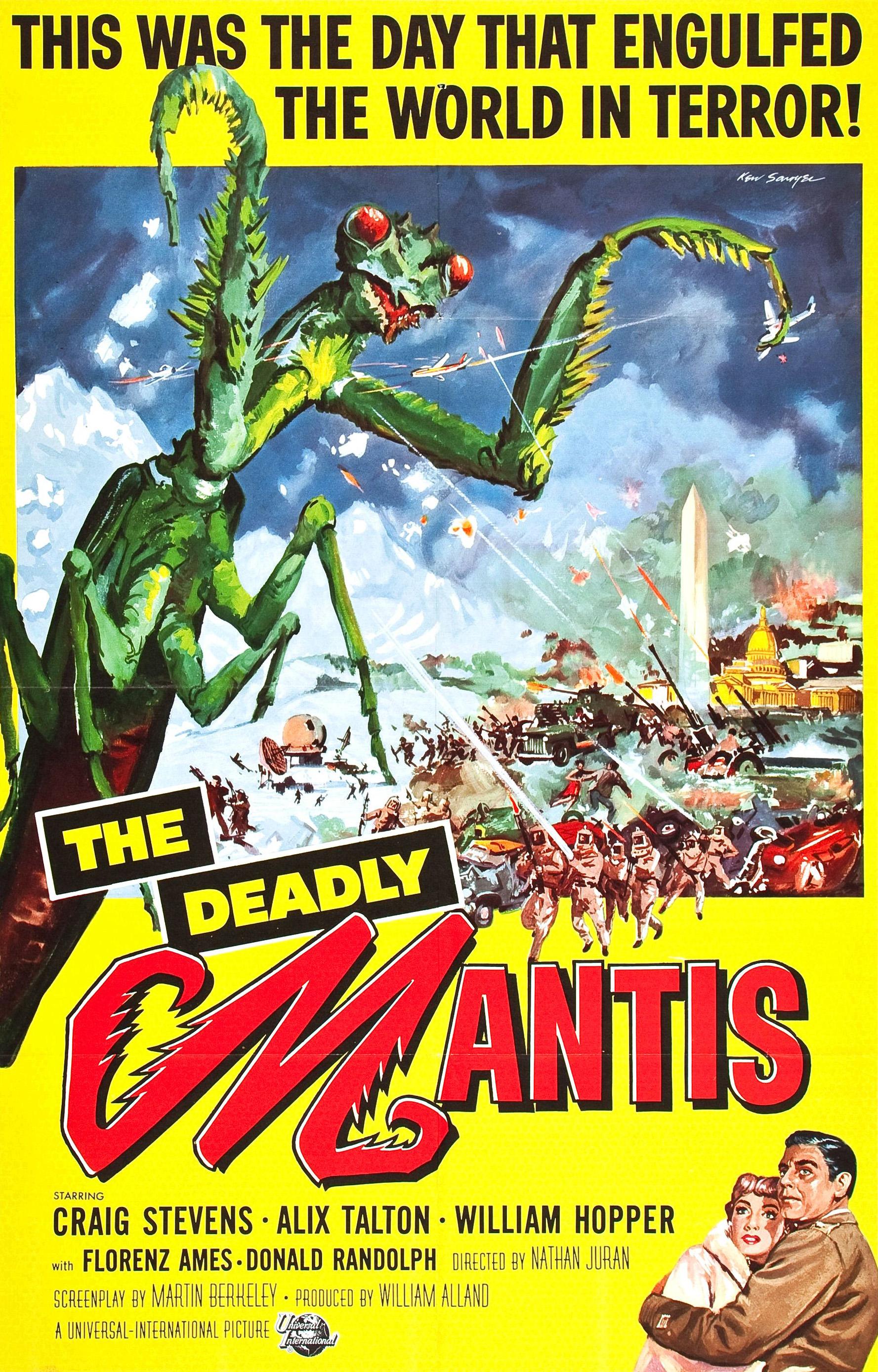 deadly mantis full movie